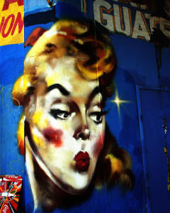 LA Street Art Girl