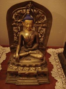 Bronze Tibetan Buddha