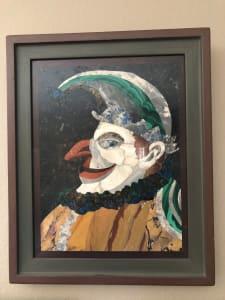 马赛克的小丑