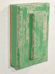 Protruded Bandage Painting (pale green)