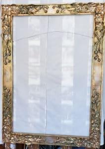 Frame, Folkart Paper Mache on Wood