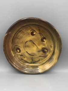 Plate with rim