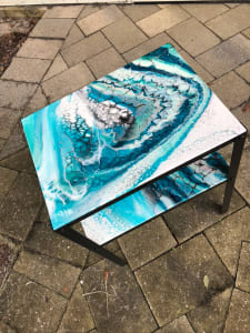 Side Table Teal 1