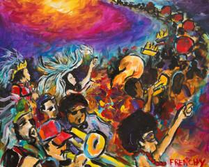 Mid Summer Mardi Gras Parade