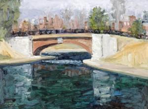 Bridge, Benton Park, St. Louis, MO, 03/06/2011