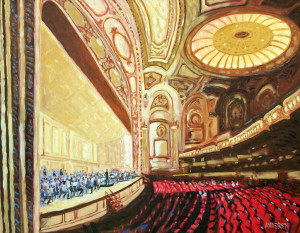 Rehearsing Strauss, 11/29/2012