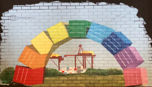 Container Bow Mural