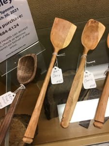 Cherry Wood Cooking Spoon #827