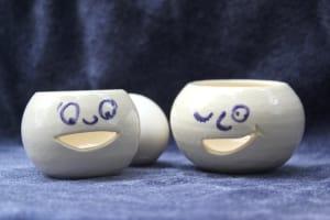 Egg Separators - White - Set of Two
