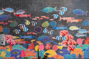 Go Go Fish mural