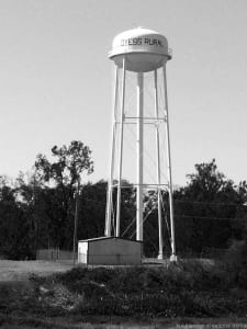 Dyess Rural Water Tower, Dyess, Mississippi County, Arkansas
