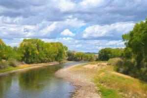 North Platte River,  Early Fall