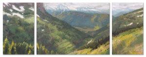 Glacier Park Panorama