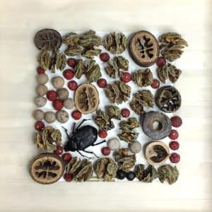 Beetle with Berries