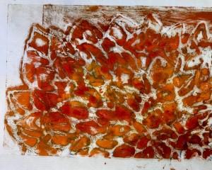 Burst of orange