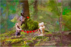 Bramble Glen Bears Valentines Day