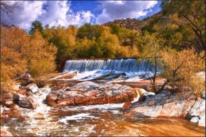 Sabino Canyon Falls