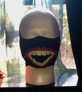 有趣的面罩……手工制作的,独特的