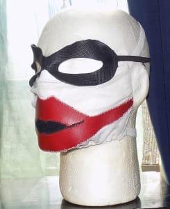 有趣的面具-小丑面具-手工面具