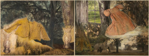 Re-Enactment (diptych)