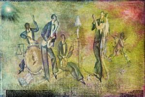 Art Deco Dancing