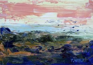 Near the Sea abstract study