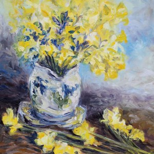 Suggestion of Daffodils