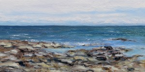 Tide coming in Reef Bay