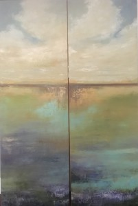 Waterdance 1 and 2, Diptych