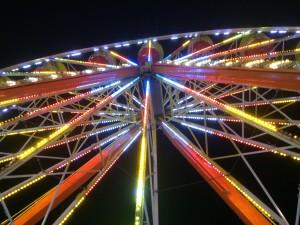 Ferris Wheel From Below