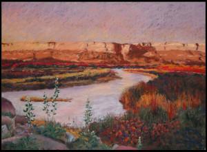 Autumn Canyon Sunset