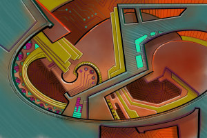 Alien Deco Construct
