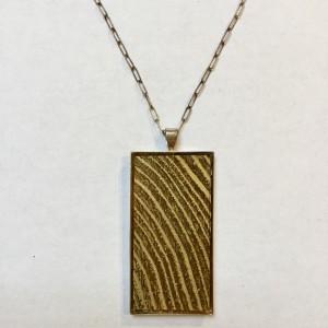 Gold Wood Grain