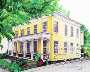 Historic House Portrait