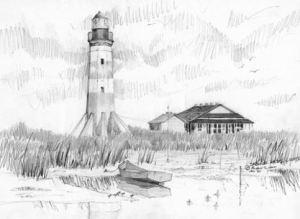 Sabine Pass Lighthouse, TX/LA