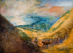 The Shepherd at Galilee Reproduction