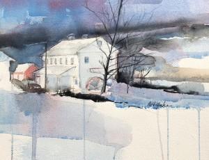 Stanton's Mill in December