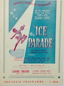 Ice Parade programme 1953
