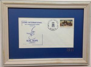 LIONS Humanitarian award to BOB HOPE