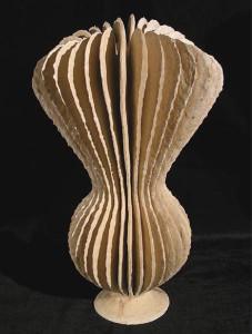 White Cream Goblet Form