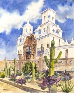 San Xavier Mission, AZ
