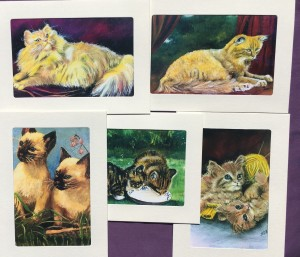 Mimi collection-cat themed 5 pack (color)
