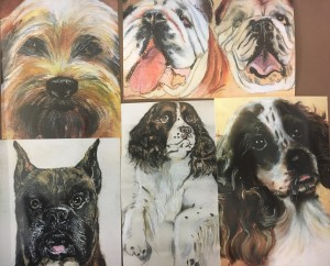 Mimi's collection-5 pack dog themed (with color)