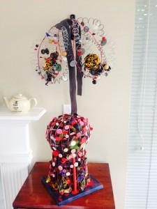 Endometriosis sculpture