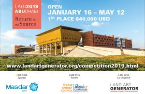 Land Art Generator Initiative 2019 - Masdar City