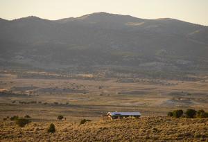 Solitary Retreat in the Nevada esert