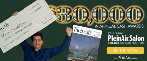 PleinAir Salon $30,000 Online Art Competition (Monthly)