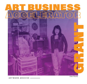 Artwork Archive's Art Business Accelerator Grant