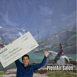PleinAir Salon $33,000 Online Art Competition