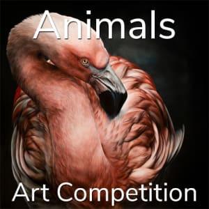 """第11届年度""""动物""""在线艺术竞赛"""